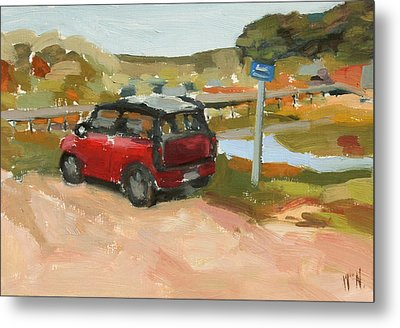 Mini On The Cape Metal Print by William Noonan