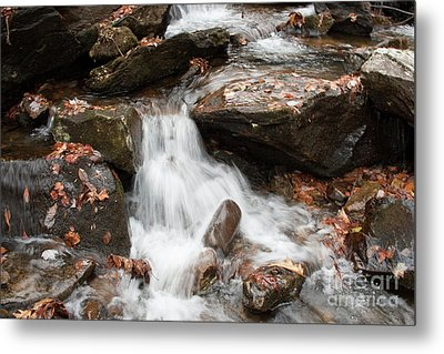 Mini Waterfall Metal Print