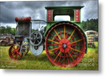 Metal Print featuring the photograph Minneapolis Threshing Machine Co. by Trey Foerster