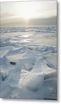 Minnesota, United States Of America Ice Metal Print by Susan Dykstra