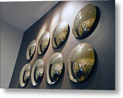 Mirrors Mirrors More Mirrors Metal Print