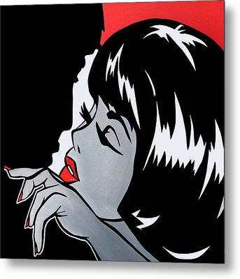 Misfits - Abstract Pop Art By Fidostudio Metal Print by Tom Fedro - Fidostudio