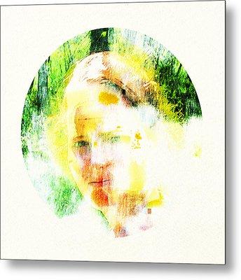 Miss. Sunshine 2 Metal Print by Greta Thorsdottir