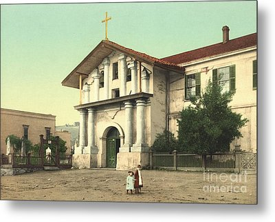 Mission Dolores In San Francisco Metal Print by Padre Art