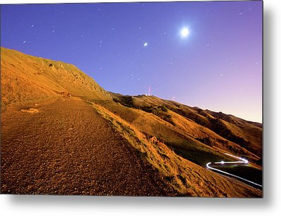 Mission Peak At Dawn Metal Print by Sean Duan