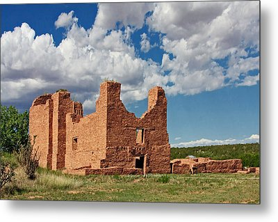 Mission To Quarai New Mexico Metal Print by Christine Till
