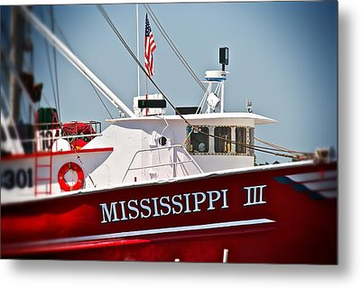 Mississippi IIi Metal Print by Jim Albritton