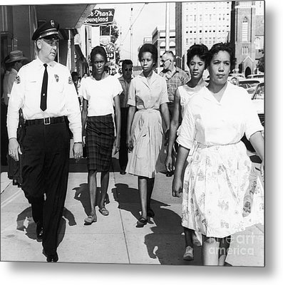 Mississippi: Sit-in, 1963 Metal Print