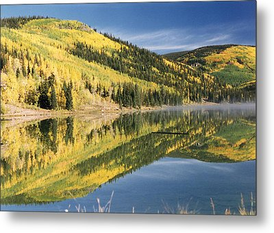 Mist On The Water Metal Print by Stacey Grant