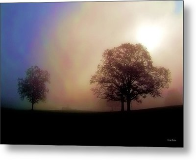 Metal Print featuring the photograph Misty Morning by George Bostian