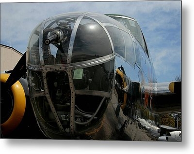 Mitchell B-25 Bomber Metal Print by Christopher Kirby