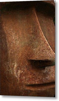 Moai Face Metal Print by LeeAnn McLaneGoetz McLaneGoetzStudioLLCcom