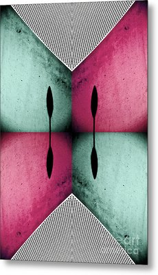 Modern Abstract With An African Theme 1 Metal Print by Emilio Lovisa