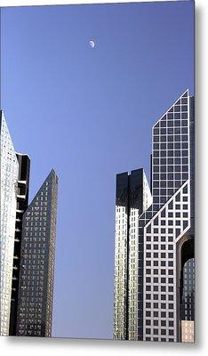Modern Architecture  Metal Print by Radoslav Nedelchev
