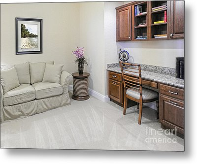 Modern Living Space Metal Print by Skip Nall