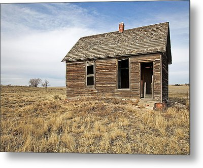 Mom And Dads Old Place Metal Print by James Steele