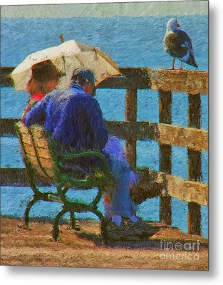 Monet Moment Metal Print by Tom Griffithe