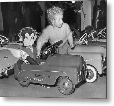 Monkey Business Metal Print by Fred Morley