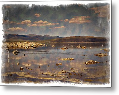 Mono Lake - Impressions Metal Print by Ricky Barnard