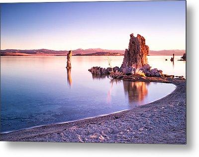 Mono Lake Sunrise Metal Print