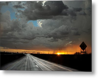 Monsoon Sunset Metal Print by Kenny Jalet