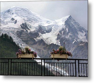 Mont Blanc Metal Print by Joe Bonita