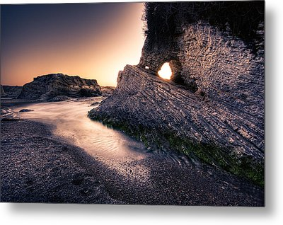 Montana De Oro After Sunset Metal Print by Matt  Trimble