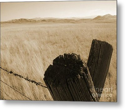 Metal Print featuring the photograph Montana Vista by Bruce Patrick Smith