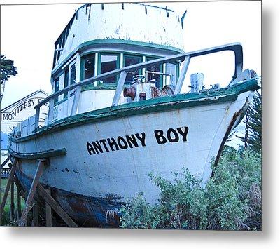 Monterey Boat Metal Print