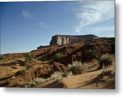 Monument Valley Morning Metal Print by Wilma  Birdwell