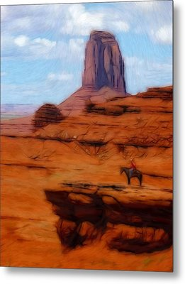 Monument Valley Pastel Metal Print by Steve K