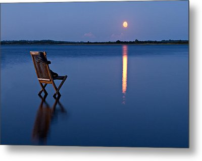 Metal Print featuring the photograph Moon Boots by Gert Lavsen