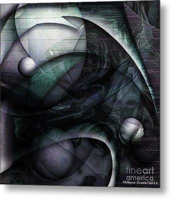 Moon Glow Metal Print by Monroe Snook