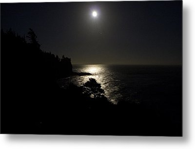Metal Print featuring the photograph Moon Over Dor by Brent L Ander