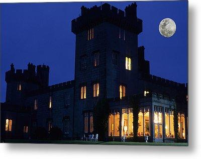 Moon Over Dromoland Castle  Metal Print