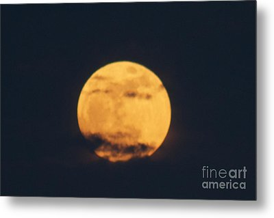 Metal Print featuring the photograph Moon by William Norton