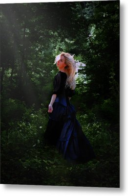 Moonlight Calls Me Metal Print by Nikki Marie Smith
