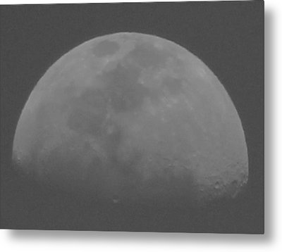 Moon's Shadow Metal Print by Elizabeth  Doran