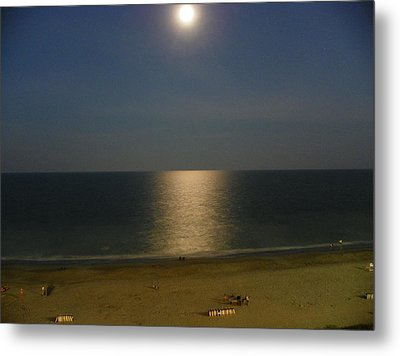 Moonscape Metal Print by Chad and Stacey Hall