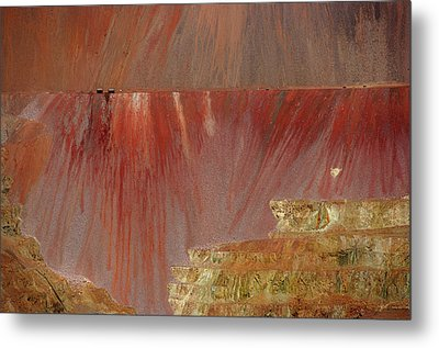 Metal Print featuring the photograph Morenci Mine by Vicki Pelham