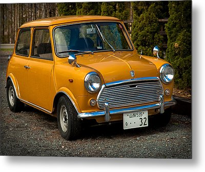 Moris Mini Cooper Metal Print by Sebastian Musial