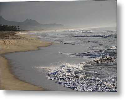 Morning Beach Metal Print by Sergey and Svetlana Nassyrov