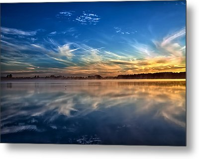 Morning Breeze Metal Print by Gary Smith