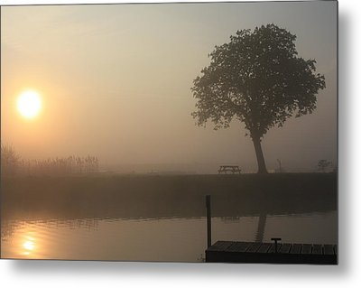 Morning Calm Metal Print by Linsey Williams