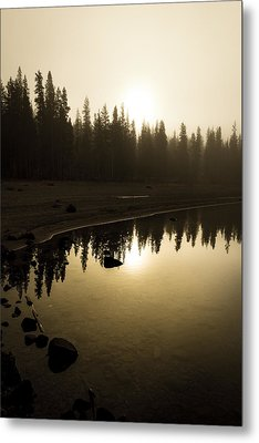 Metal Print featuring the photograph Morning Calm by Randy Wood
