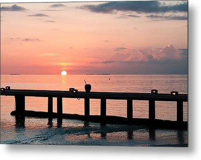 Metal Print featuring the photograph Morning Calm by Shirley Mitchell