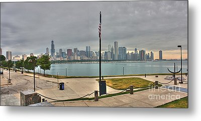 Morning Comes To The City Metal Print by David Bearden