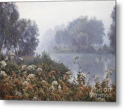 Morning Fog Metal Print by Andrey Soldatenko
