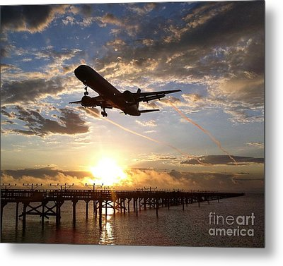 Metal Print featuring the photograph Morning Glory by Alex Esguerra