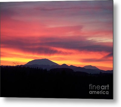 Metal Print featuring the photograph Morning Glow by Chalet Roome-Rigdon